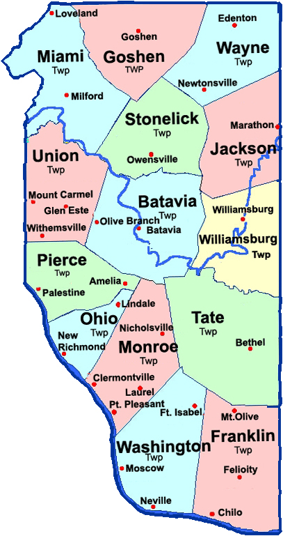 Miami Township Ohio Map.Fire And Ems Chiefs Alliance Of Clermont County